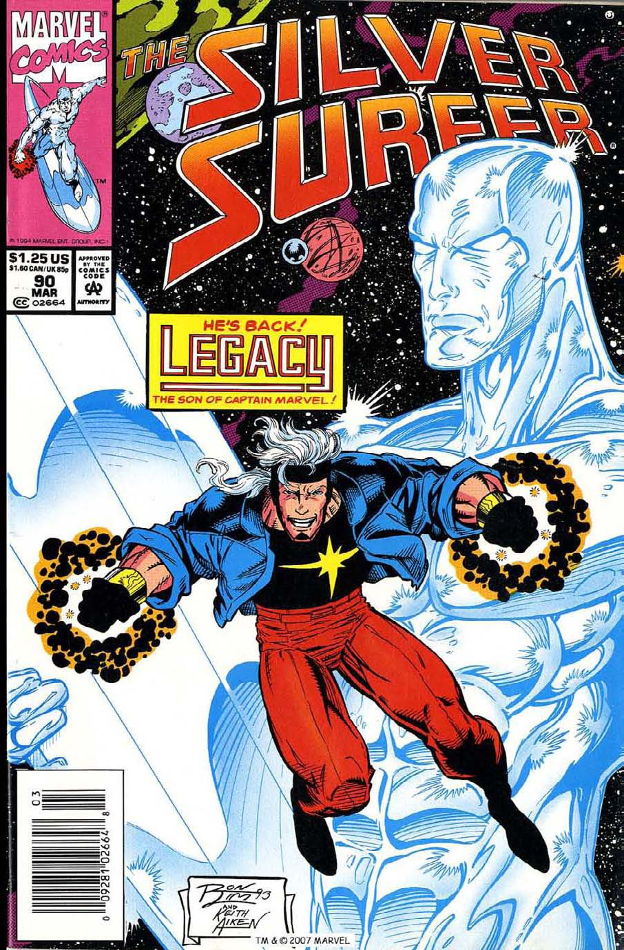 Silver Surfer (1987) issue 90 - Page 1