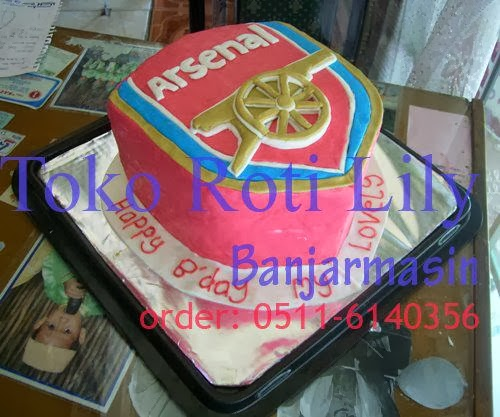 Lily Cake Shop Banjarmasin Kue Ultah Logo Klub Sepak Bola