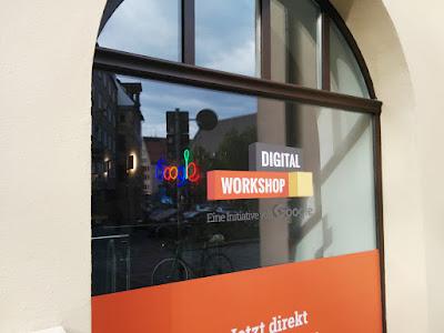 Die Google-Workshops in der Nürnberger Altstadt.