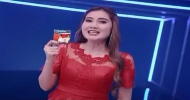artis dangdut cewek iklan oskadon sp