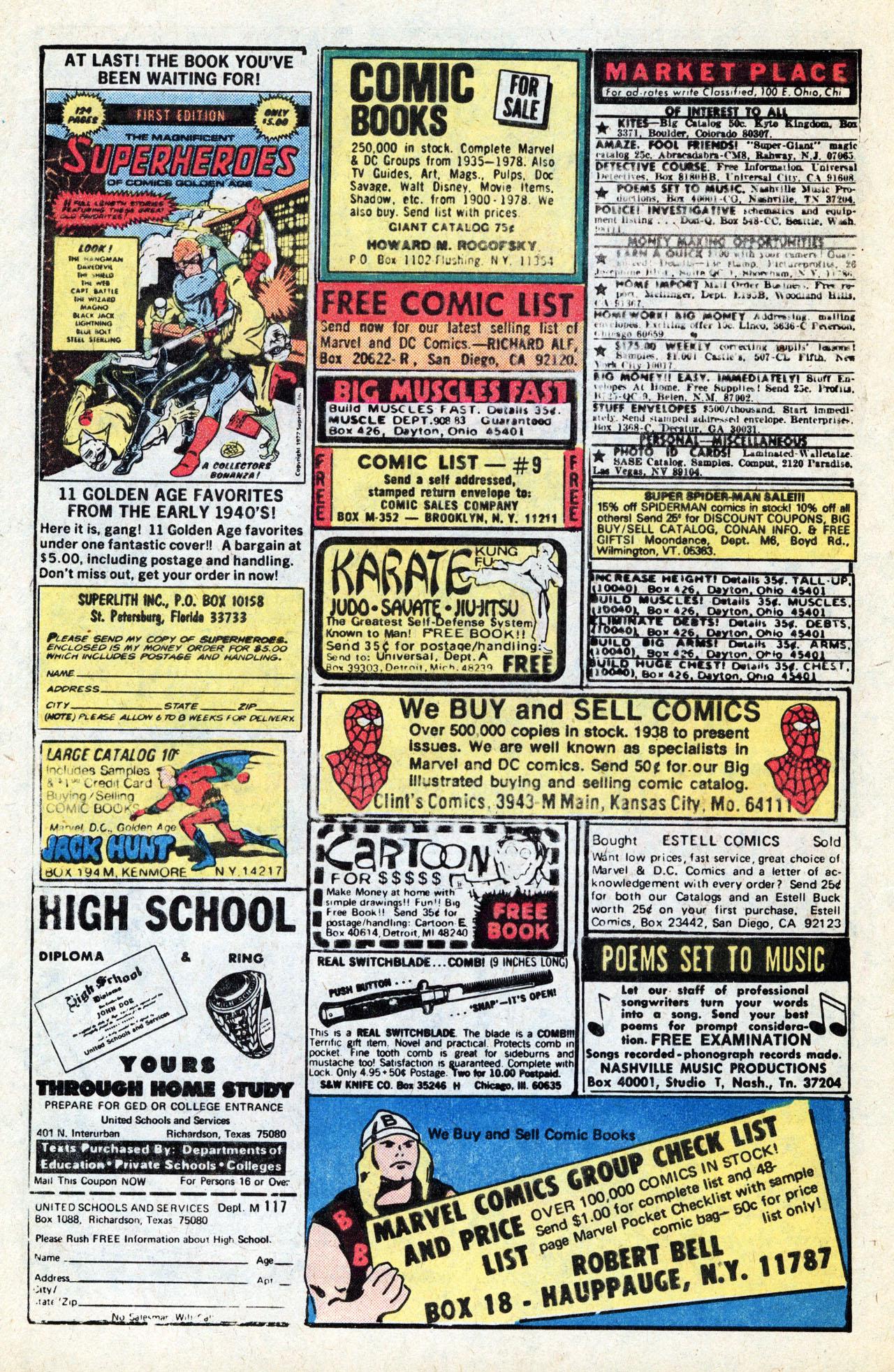 Ms  Marvel (1977) #12 - Read Ms  Marvel (1977) Issue #12