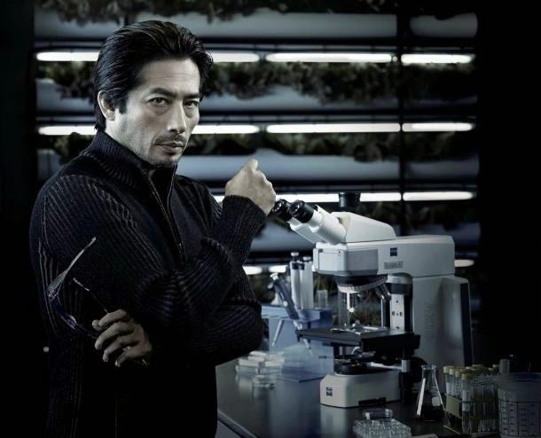 Docteur Hiroshi Hataki (Hiroyuki Sanada) , personnage de la série Helix