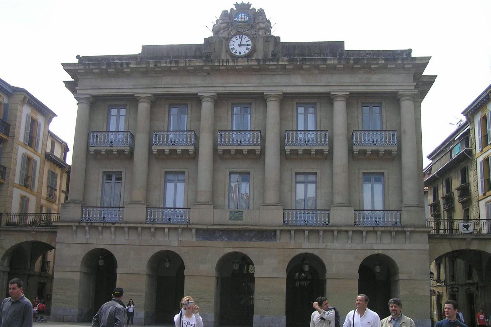 Plaza de la Constitución, San Sebastián.