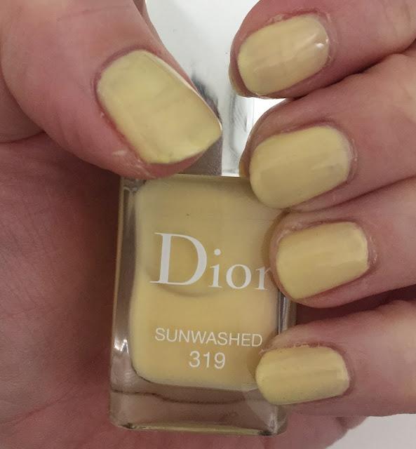 Dior, Dior Vernis Gel Shine and Long Wear Nail Colour, Dior #319 Sunwashed, nails, nail polish, nail lacquer, nail varnish, manicure, #ManiMonday