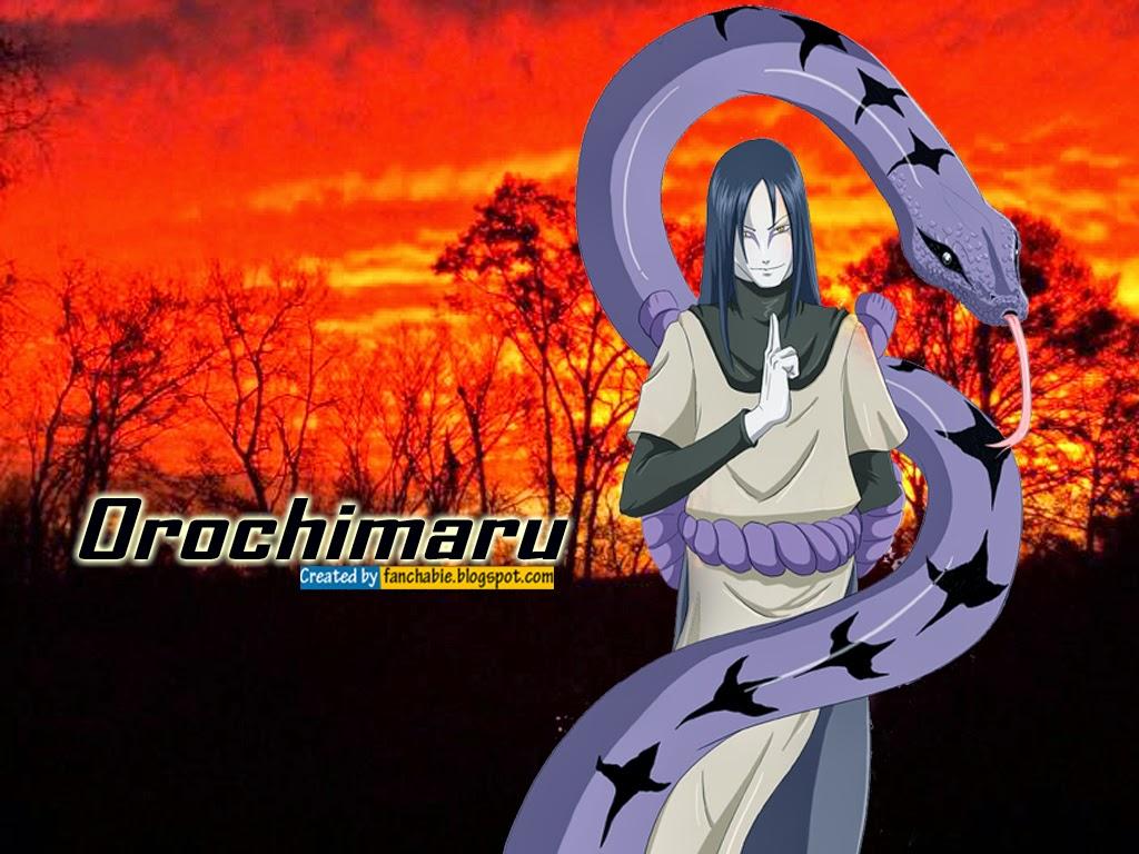 Orochimaru are Konohagakure's legendary Sannin