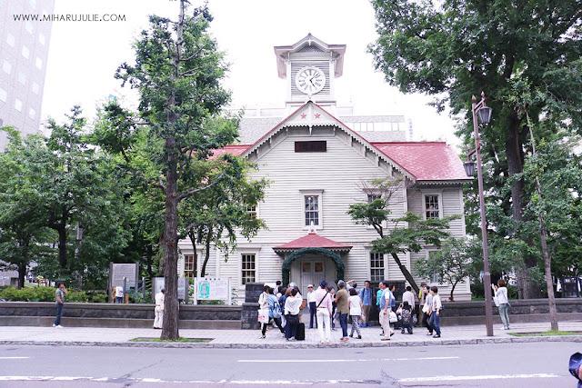 hokkaido clock tower