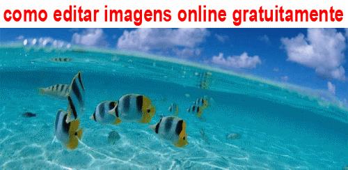como editar imagens online gratuitamente