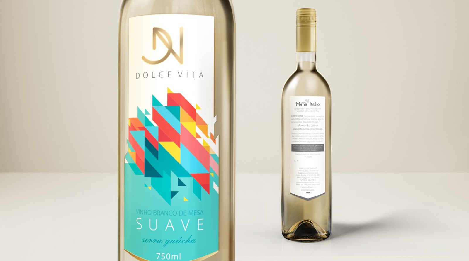 buy popular 33bd6 c5b4c Dolce Vita Wine on Packaging of the World - Creative Package ...