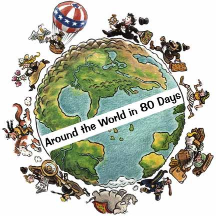 around the world in days essay around the world in 80 days jules verne