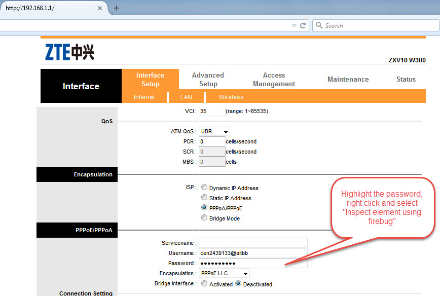 All Router Configuration, Login Password and PPPOE Passwords