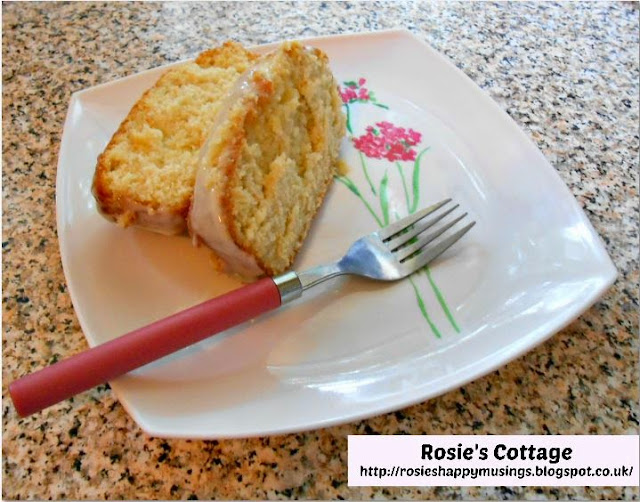 Rosie's Lemon Drizzle Sponge Loaf - enjoy!