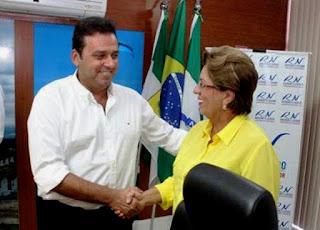 Resultado de imagem para Carlos Eduardo Alves e Rosalba