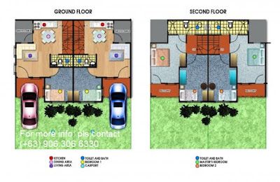 Diana Affordable Townhouse - Lancaster New City Floor Plan
