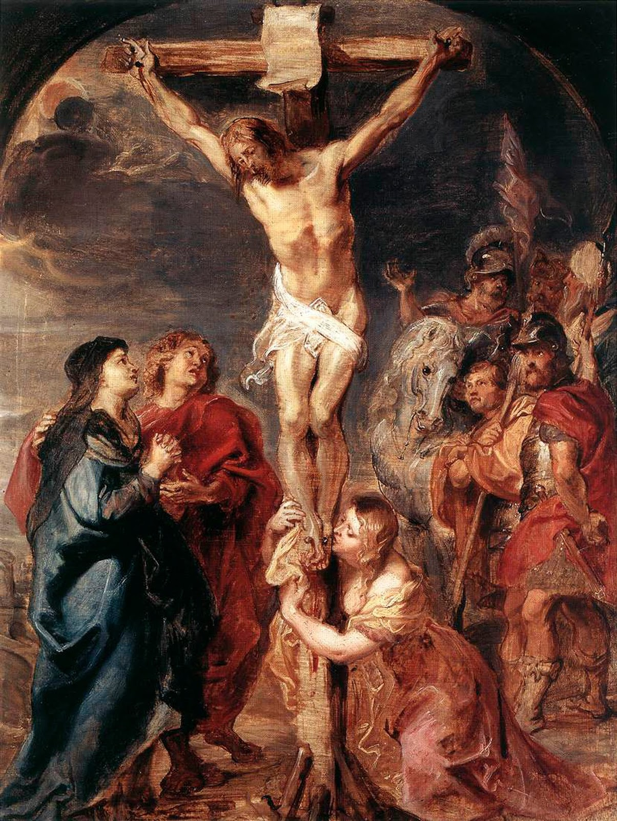 When we were in primary four, our form teacher, Mrs. Annie Chan, told us the story of Jesus Christ being tortured, scourged and finally crucified.