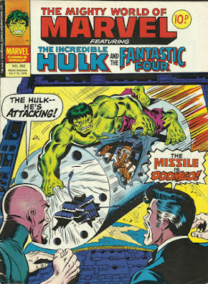 Mighty World of Marvel #302, the Incredible Hulk