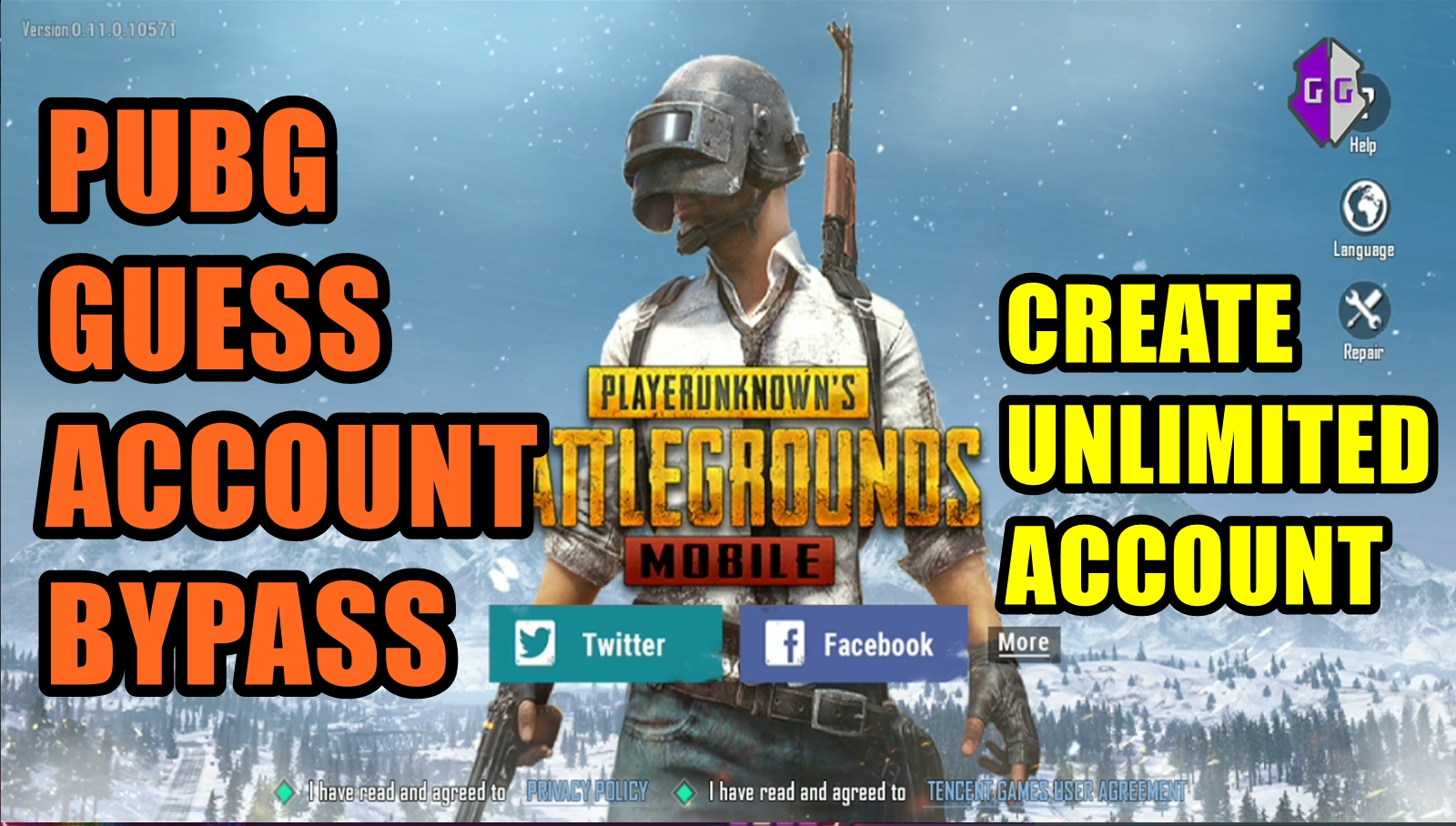 PUBG RESET GUEST ACCOUNT IN PUBG MOBILE ANDROID NO ROOT