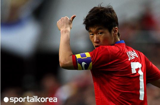 Park voted top foreign player in the J Legaue