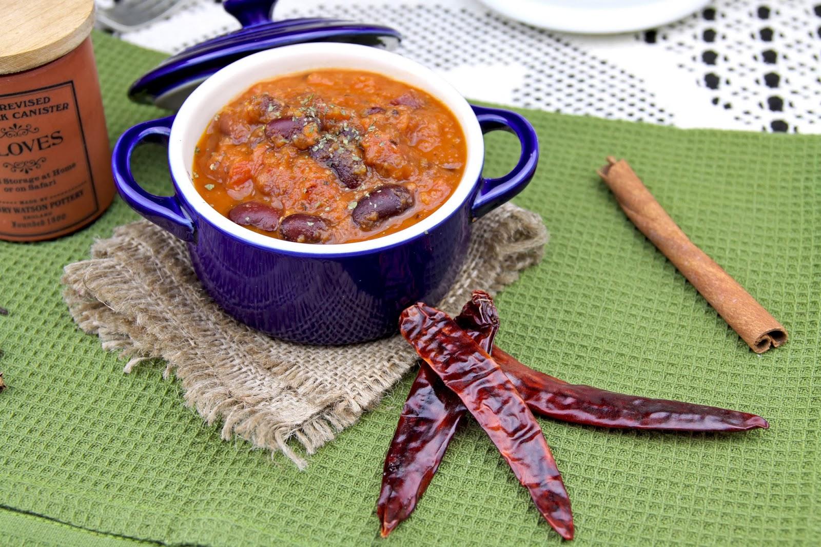 potrawka z czerwonej fasoli