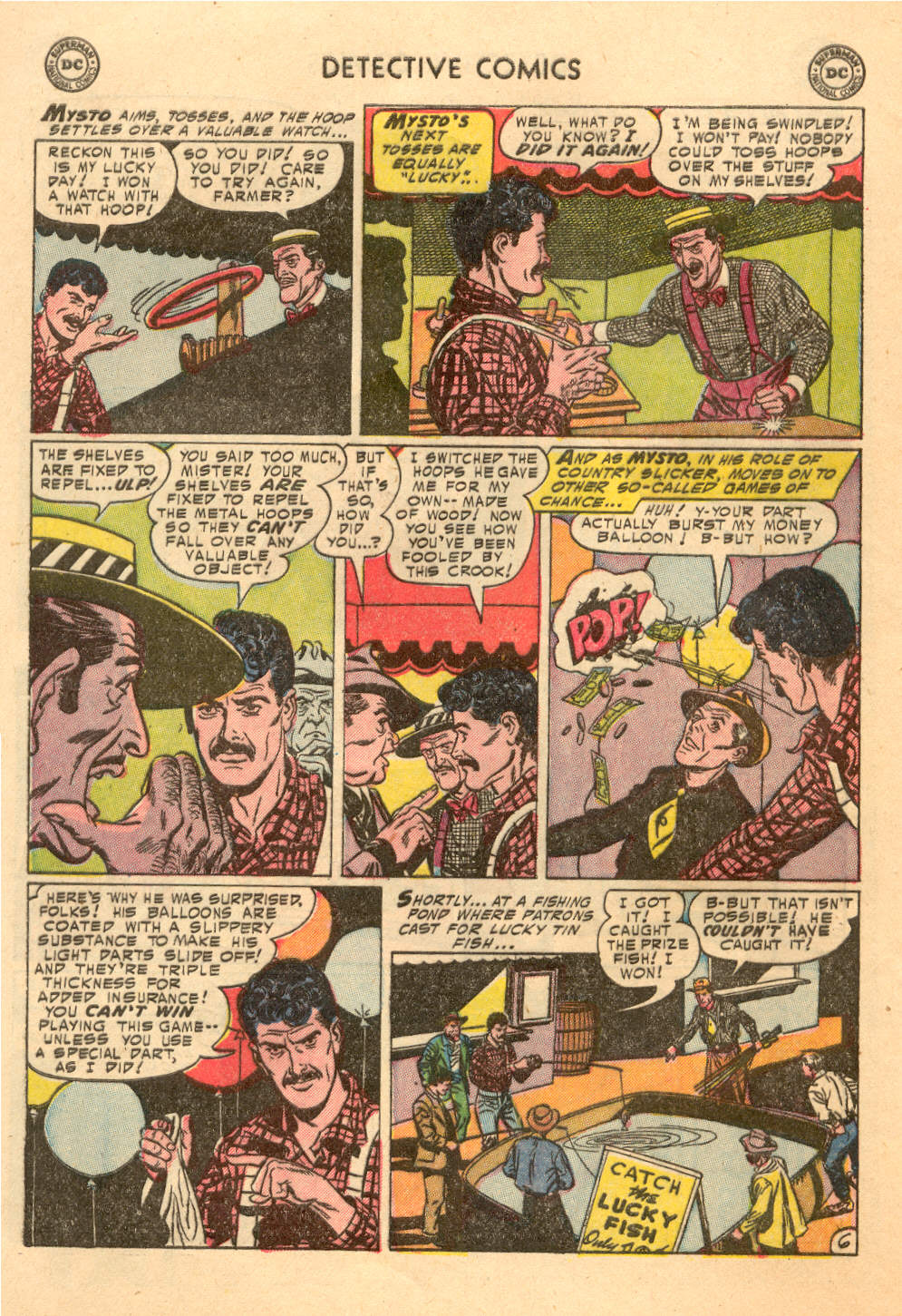 Read online Detective Comics (1937) comic -  Issue #212 - 25