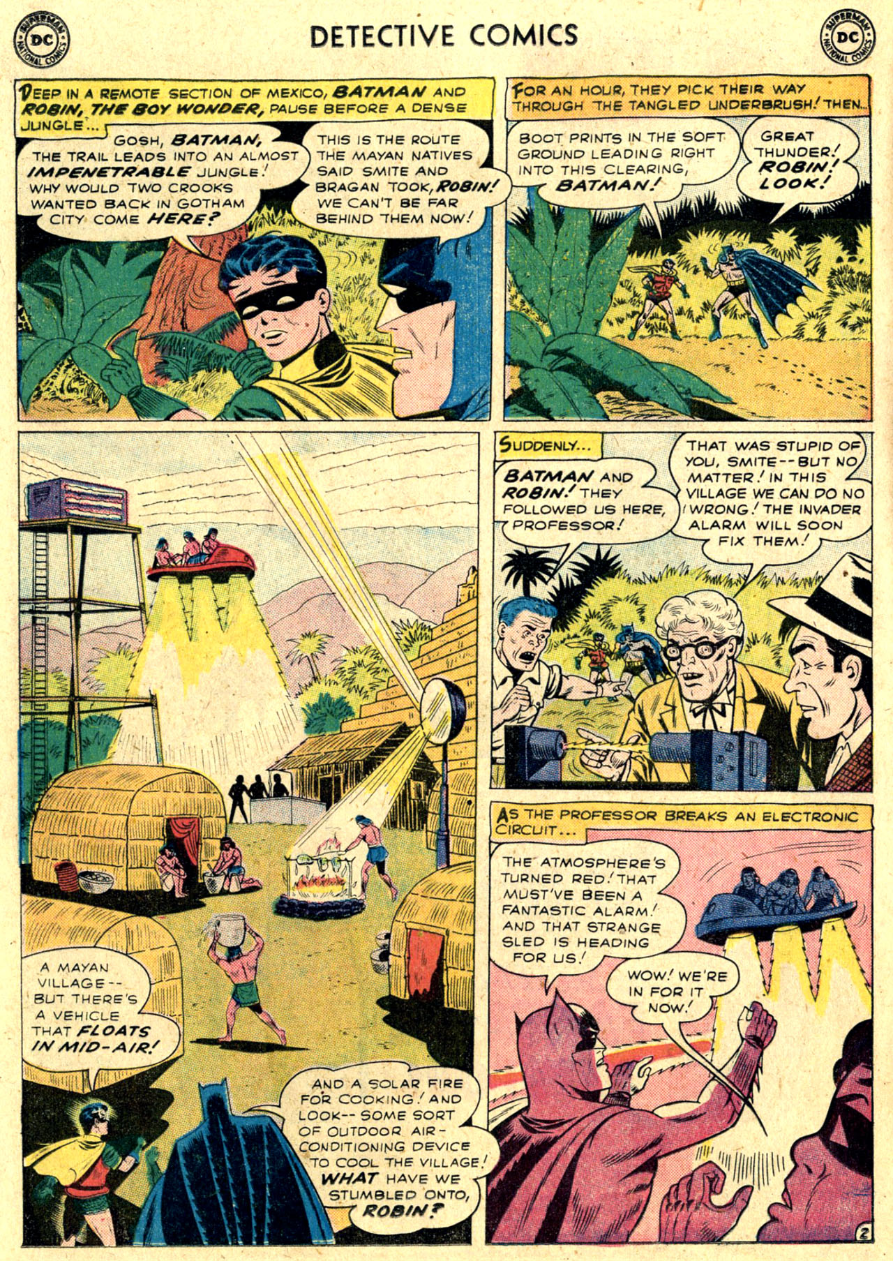 Read online Detective Comics (1937) comic -  Issue #263 - 4