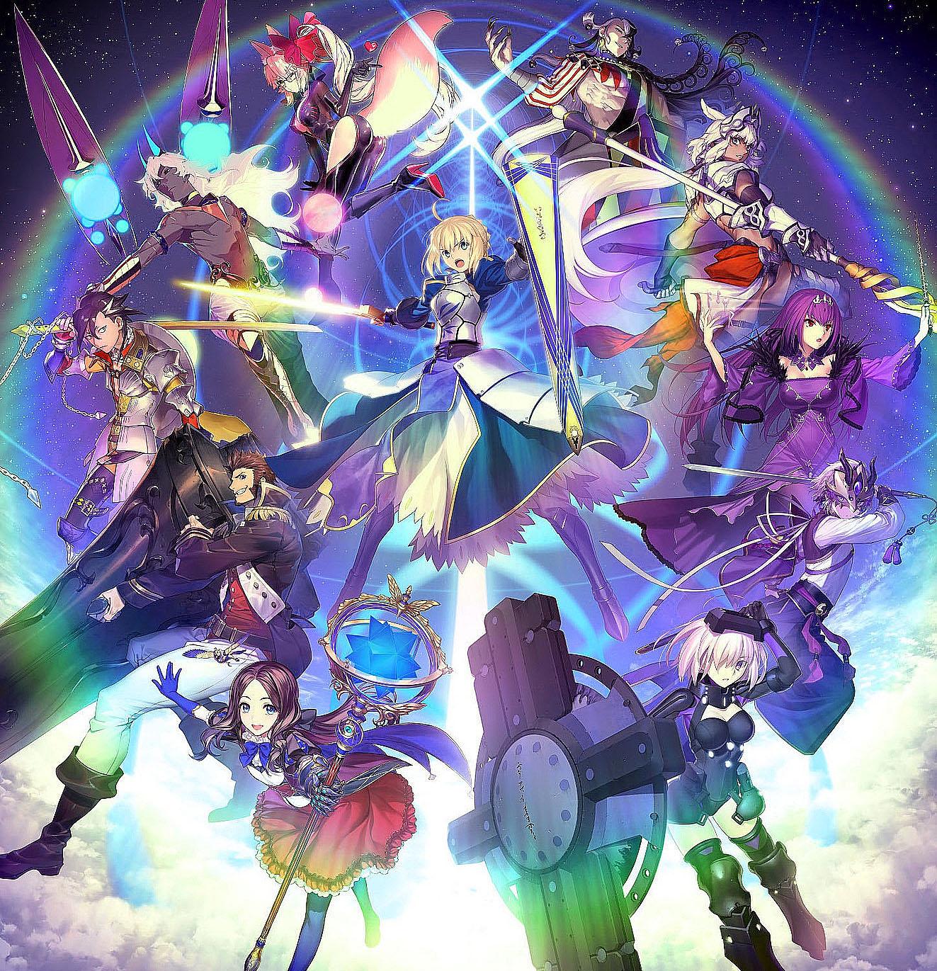 Fate/Grand Order OP : KOCHO - 明鏡肆水 [2020.10.10+MP3+RAR]