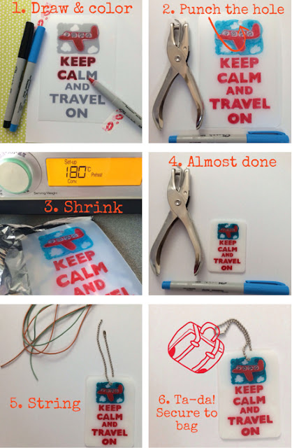 DIY Craft: Shrink Plastic Bag Tags