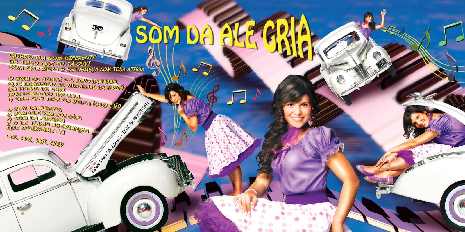 Aline Barros Aline Barros & Cia 2 encarte: aline barros - aline barros & cia 2 (edição digital)