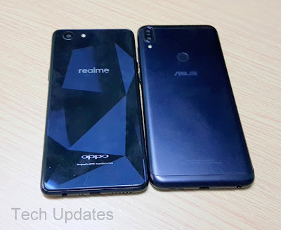 Realme 1 vs Asus Zenfone Max Pro M1 : Design, Features, Camera Comparison