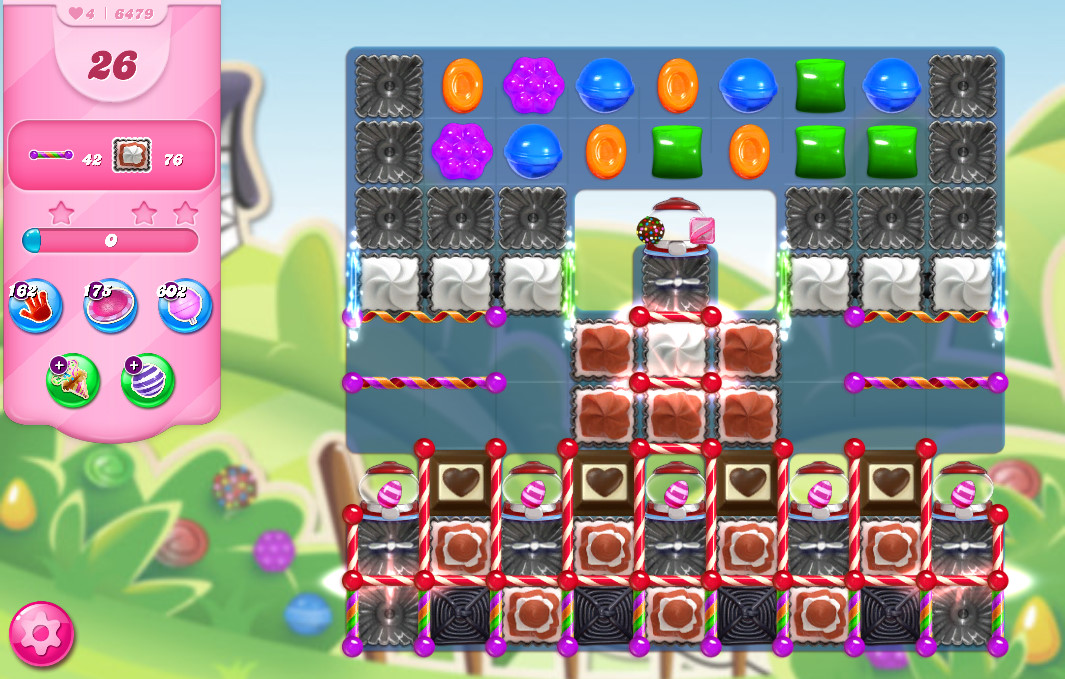 Candy Crush Saga level 6479