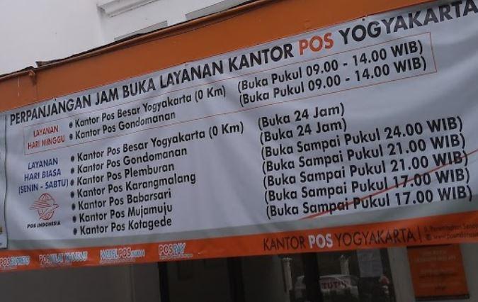 Info Terbaru Jam Buka Kantor Pos Yogyakarta Update Terbaru Jam Buka Layanan Kantor Pos