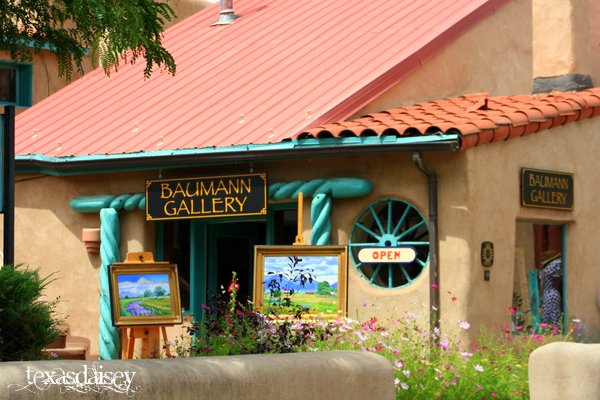 Bauman Art Gallery in Taos New Mexico