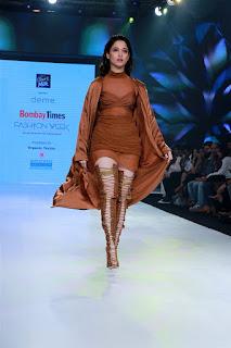 Actress Tamanna Bhatia Ramp Walk at Bombay Times Fashion Week 2020