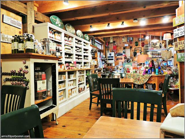 Granjas de Massachusetts: Tienda de Regalos en la Kimball Farm