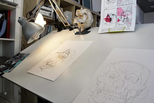 PANDORA 3D cover process by Guillem March