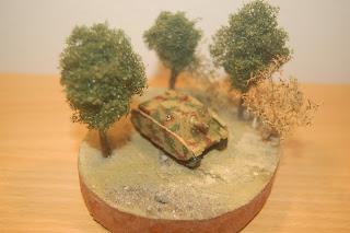 1/144 Brummbär tank