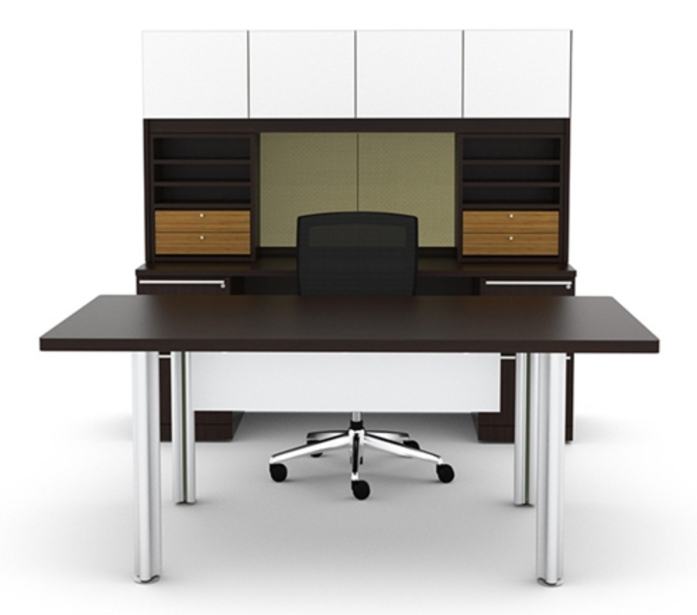 Verde Executive Desk by Cherryman