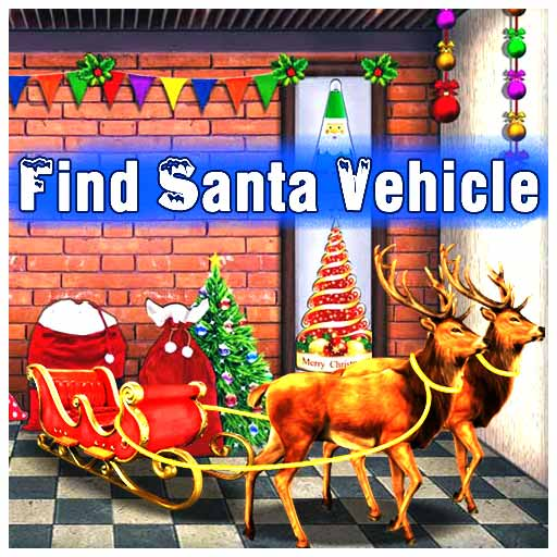 MirchiGames Find Santa Vehicle