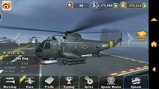 Download GUNSHIP BATTLE : Helicopter 3D v2.1.5 Apk + Data