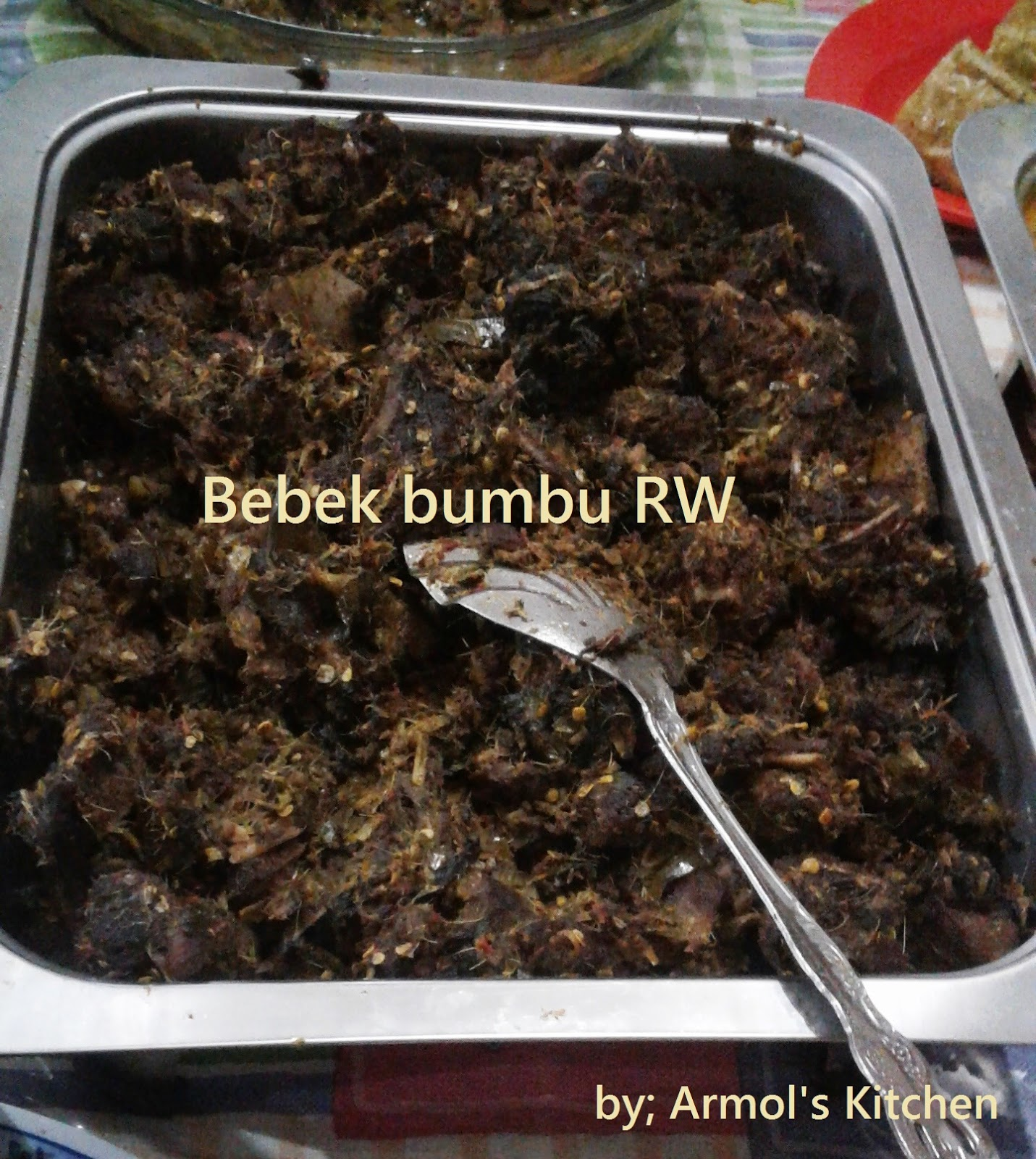 Resep Bebek Bumbu Rw Khas Manado