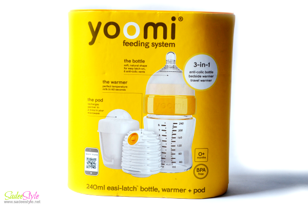 Self warming feeding bottles - Yoomi