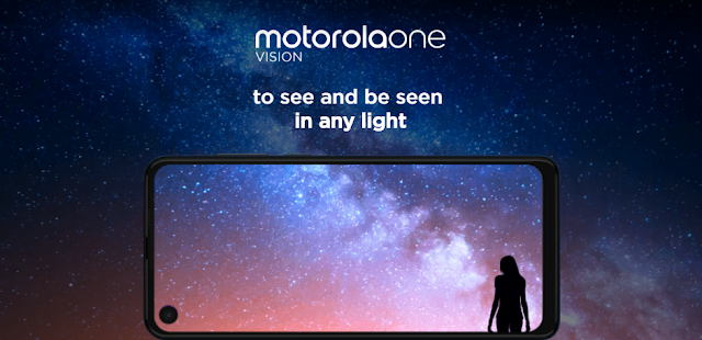 Moto One Vision With 48 Megapixel Camera,Punch-Hole Display Launched In India,See Pricing & Specifications