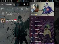 BBM Mod Naruto & Sasuke V3.2.5.12 Apk