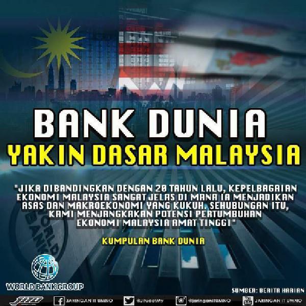 Bank Dunia Yakin Dasar Malaysia