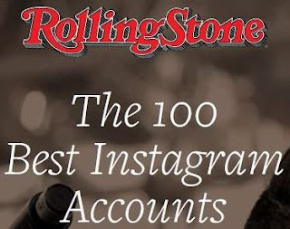 Rolling Stone - The 100 Best Instagram Accounts image