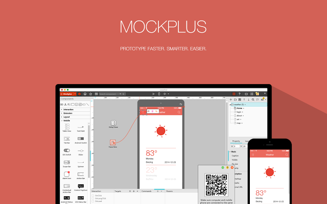 Mockplus, wireframe, design tool
