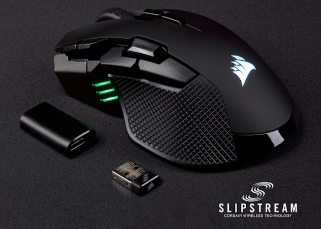 Corsair Ironclaw RGB wireless and Glaive RGB professional gaming mice