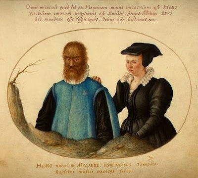 Petrus gonsalvus y Catherine