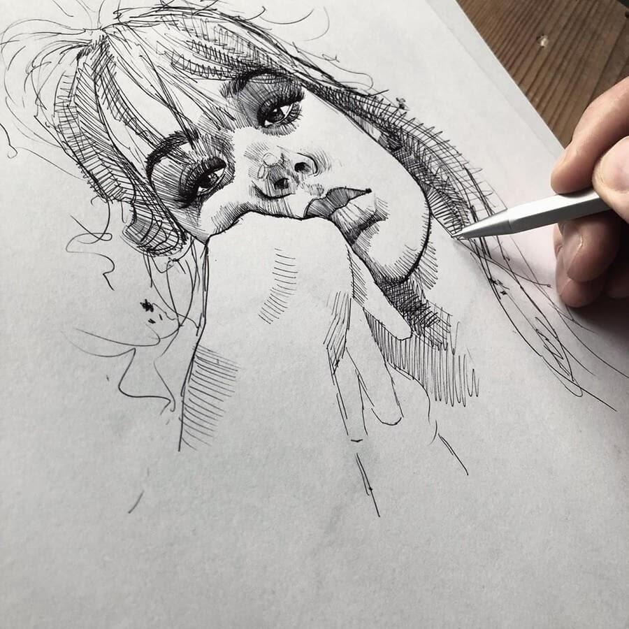 08-Florian-Erb-Minimalist-Sketches-www-designstack-co