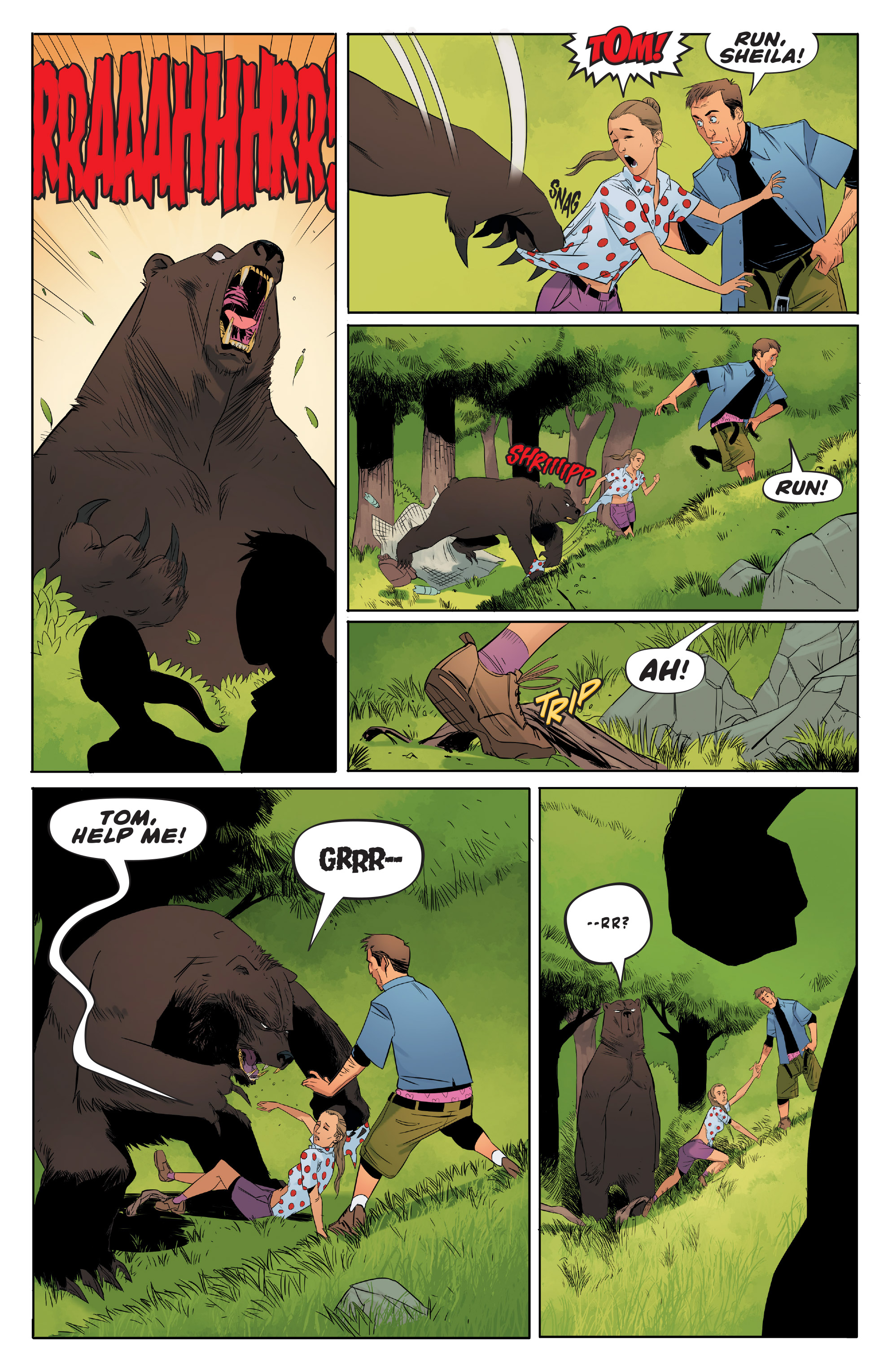 Read online Shirtless Bear-Fighter! comic -  Issue #1 - 6