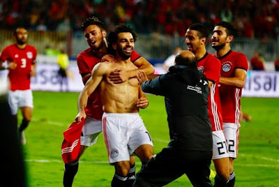 محمد صلاح, محمد أبوتريكة, مصر, تونس,